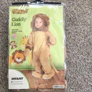 Spirit Cuddly Lion Costume